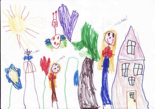 Imagini pentru desenele copiilor interpretari psihologice