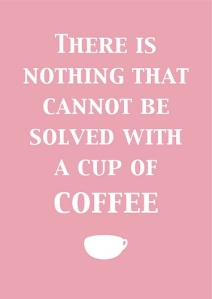 coffee as a solution