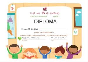 diploma copii