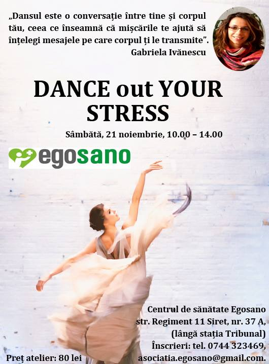Dance out your stress_poster