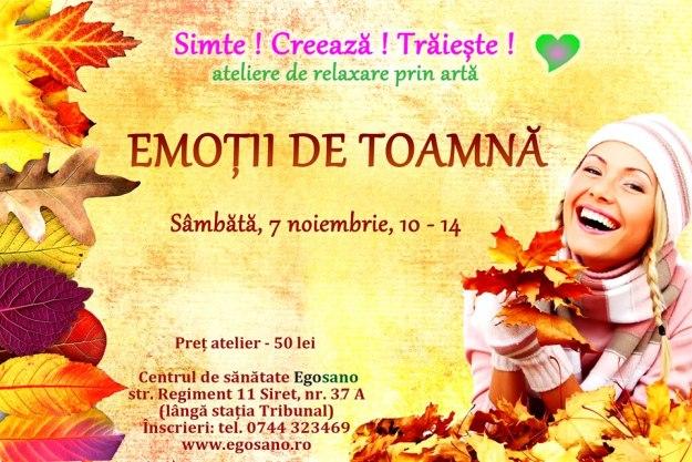 Emotii de toamna_atelier de relaxare prin arta_7 nov15