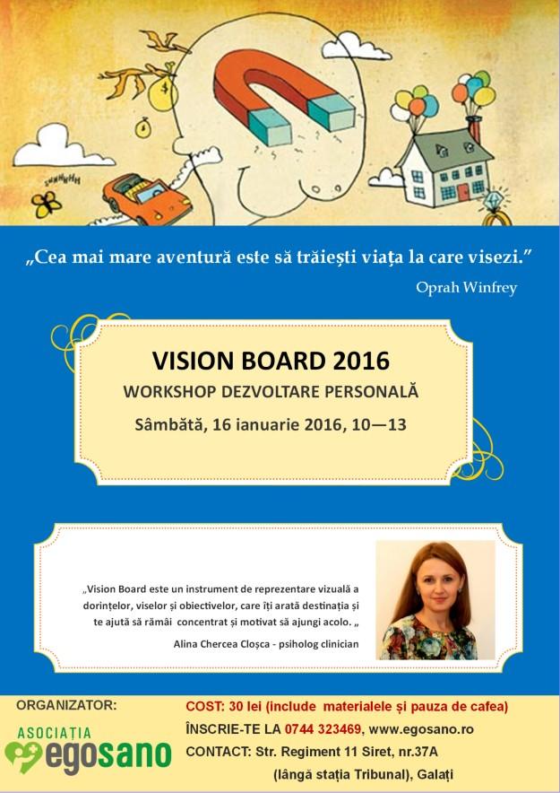 VISION BOARD 2016