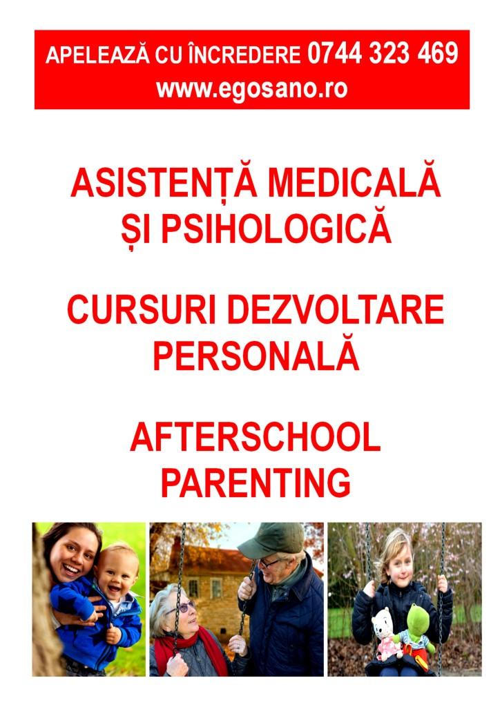 poster geam centru Egosano