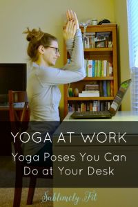 yoga at work